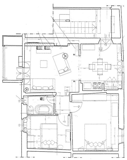 White home pln - Plan maison avec tour carree ...
